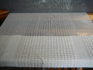 Weaving shawl bamboo