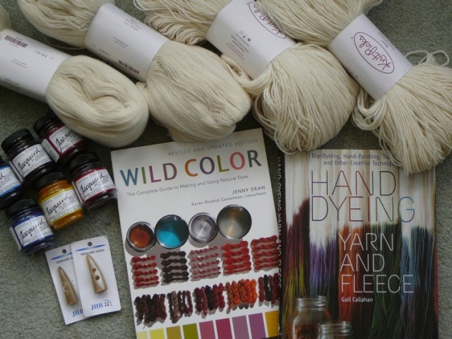 dyeing bare yarn dyeing books
