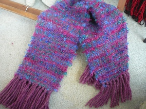 weave mohair scarf knitting yarns