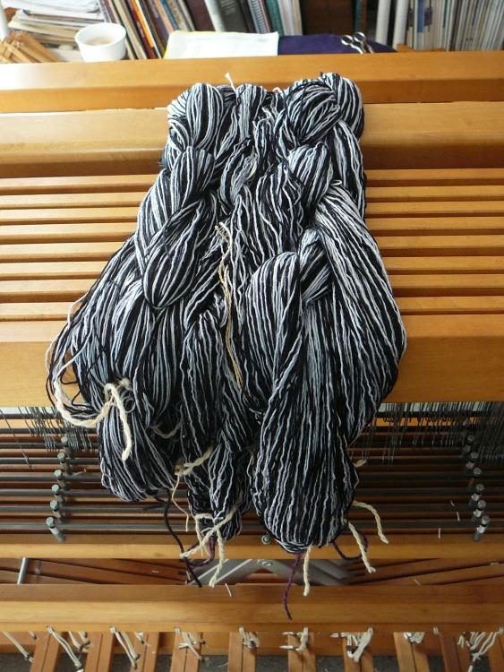 warp bamboo yarn
