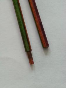 Watermelon ends of broken needles